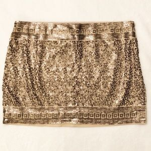 Express Sequin Skirt - Perfect for the holidays!